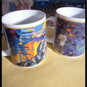 Kandinsky & Van Gogh Famous Artists Cafe Arts Mugs